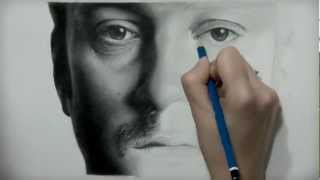 getlinkyoutube.com-Derren Brown time-lapse drawing