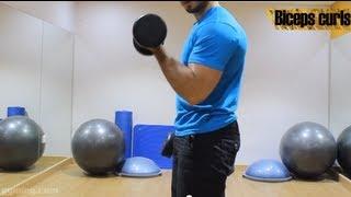 getlinkyoutube.com-شرح تمرين biceps curls  للمبتدئين - Gyming.com