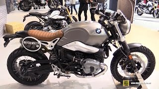 getlinkyoutube.com-2016 BMW R Ninet Scrambler - Walkaround - 2015 Salon de Moto Paris