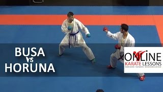 Stanislav Horuna vs Luigi Busà - Karate1 Premier League - Dutch Open 2014