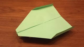 getlinkyoutube.com-How To Make a Paper Airplane That Flies For a Long Time - Paper Airplane That FLIES FAR
