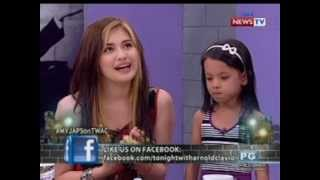 getlinkyoutube.com-Tonight with Arnold Clavio: Kwentuhan at kantahan with Julie Anne 'My Japs' San Jose