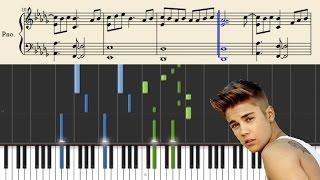 getlinkyoutube.com-Justin Bieber - What Do You Mean - Piano Tutorial + Sheets