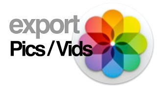 getlinkyoutube.com-How to export pictures videos from PHOTOS app in Mac Yosemite