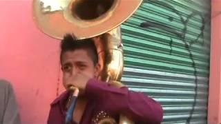 getlinkyoutube.com-Banda Abrileña a pura tuba en San Lorenzo Tezonco