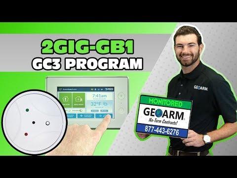 2GIG-GB1-345 - 2GIG GC3 Programming