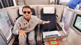 getlinkyoutube.com-this is the BEST AIRPLANE SEAT!!!