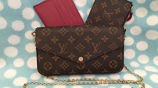 getlinkyoutube.com-Unboxing my Louis Vuitton Pochette Felicie