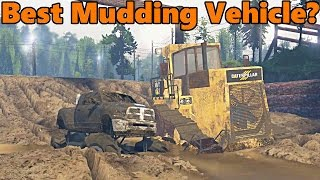 Spin Tires BEST MUDDING VEHICLE!?