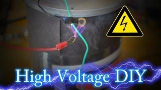 getlinkyoutube.com-How to make a high voltage power supply