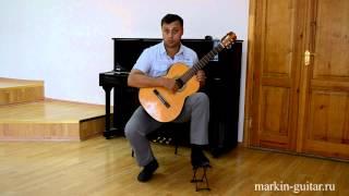 Посадка и постановка рук гитариста