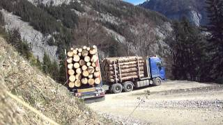 getlinkyoutube.com-holztransporte