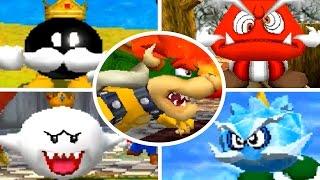 getlinkyoutube.com-Super Mario 64 DS - All Bosses (No Damage) + Ending