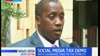 Ugandan police fire live bullets at demonstrators against Social Media Tax | KTN News Desk