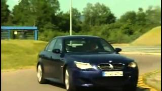 getlinkyoutube.com-Brabus E V12  vs  BMW M5  vs  Alpina B5  vs  Mercedes-Benz E55 AMG