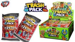 getlinkyoutube.com-The Trash Pack Trading Cards Toy Review & Pack Opening Giro Max Toys
