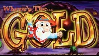 getlinkyoutube.com-WHERE'S THE GOLD : MAX BET - HUGE WIN - ARISTOCRAT