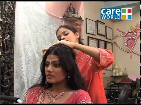 Saundarya - Saundarya - Make Up Tips - Steps To Get The Perfect Bridal Hairstyle