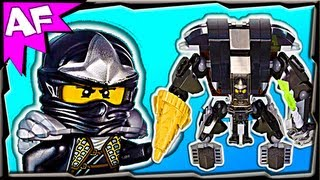 COLE's EARTH MECH - Custom Lego Ninjago 70723 70500 Stop Motion Review
