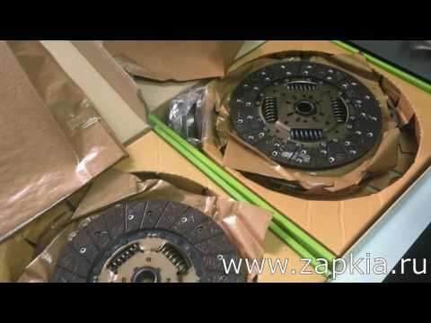 Сцепление Hyundai Porter (корзина, диск и выжимной подшипник)