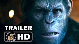 getlinkyoutube.com-WAR FOR THE PLANET OF THE APES - Official Trailer #1 (2017) Andy Serkis Sci-Fi Action Movie HD