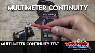 getlinkyoutube.com-Multi-Meter continuity test