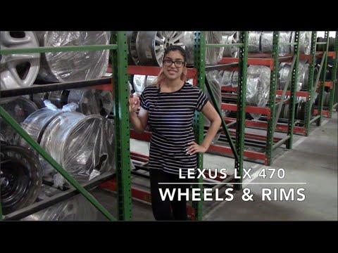 Factory Original Lexus LX 470 Wheels & Lexus LX 470 Rims – OriginalWheels.com