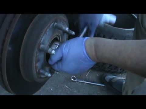 Hub and bearing replacement 2002 Cadillac Escalade#How to replace the bearing and hub