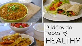 getlinkyoutube.com-3 Idées de repas HEALTHY