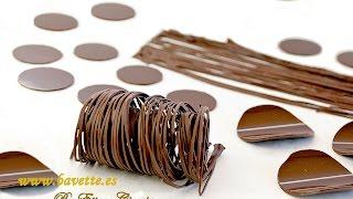 getlinkyoutube.com-ATEMPERADO DEL CHOCOLATE Y DECORACIONES