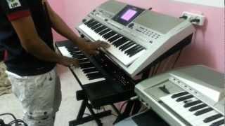 getlinkyoutube.com-شوية عزف YAMAHA OR700 AND YAMAHA 62