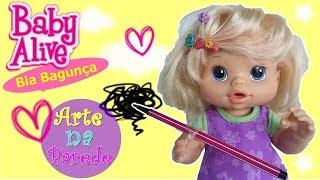getlinkyoutube.com-Baby Alive Bia Bagunça - Brincando de Boneca Bebê Alive em Português [PARTE 3] DisneySurpresa