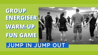 getlinkyoutube.com-Group Energiser, Warm-Up, Fun Game - Jump In Jump Out