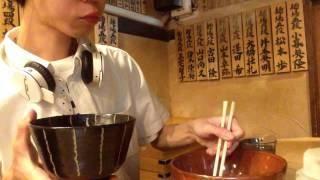 getlinkyoutube.com-大食い チャレンジ→麺処 七人の侍 つけ麺3キロ食べた。