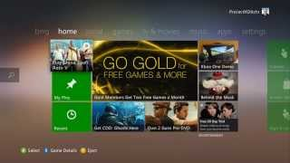 "getlinkyoutube.com-Xbox Dashboard Glitch: *Still Working* ""How To Get Into Xbox Live Party's Without A Gold Membership"""