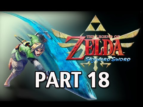 Legend of Zelda Skyward Sword - Walkthrough Part 18 Earth Temple Let's Play HD