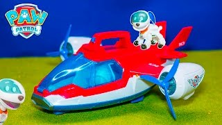getlinkyoutube.com-PAW PATROL Nickelodeon Paw Patrol Air Patroller Toys Video Unboxing