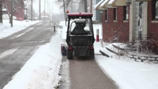 getlinkyoutube.com-Ventrac Sidewalk Snow Management
