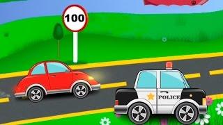 getlinkyoutube.com-Машинки. Мультики про машинки.  Машина скорой помощи. Пожарная и полицейская машина. Мультфильм.