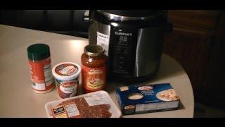 getlinkyoutube.com-World's Best 8 Min. Pressure Cooker Lasagna  DELICIOUS!
