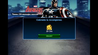 getlinkyoutube.com-Truco para tener 20 de Oro Gratis en Marvel Avengers Alliance