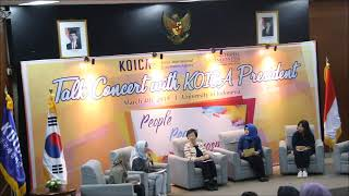 Talk Concert with KOICA President