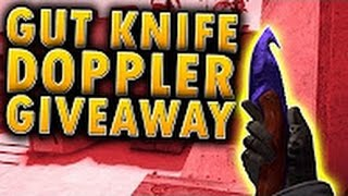getlinkyoutube.com-CSGO GIVEAWAY - Gut Knife Doppler FN