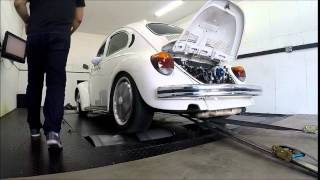 getlinkyoutube.com-Veja o fusca Branca de Neve no Dinamômetro (Motor antigo 2.0 Carburado)