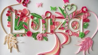 getlinkyoutube.com-Quilling Typography Tutorial