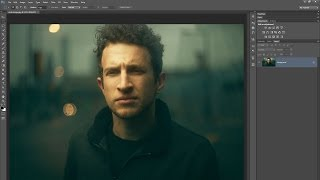 getlinkyoutube.com-Retouch a Moody and Cinematic Portrait with Photoshop