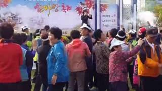 """가수정서영 메들리 """"2016 동광양농협 조합원 한마당잔치""""에서.."""