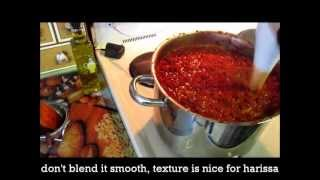 getlinkyoutube.com-Libyan Harissa- Hot Pepper Paste- هريسة