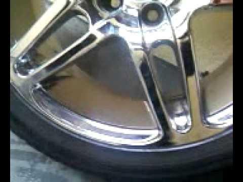 rodas aro 17 cromadas pneu 225/45 R17 (golf audi)