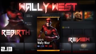 getlinkyoutube.com-Rebirth Wally West! Injustice Gods Among Us 2.13! IOS/Android